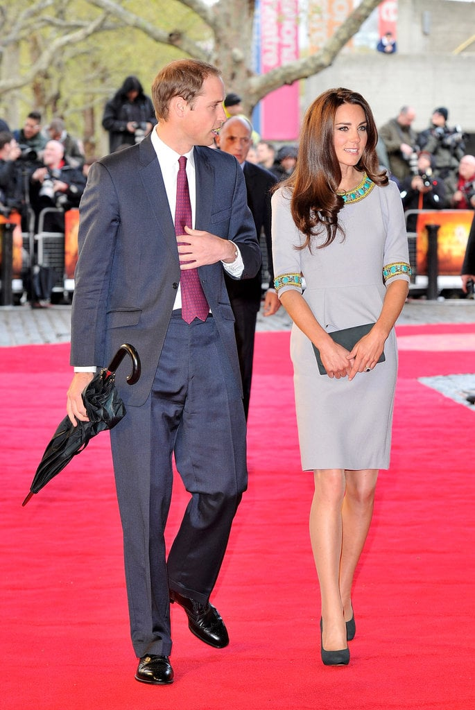 The Royal Couple the African Cats Premiere