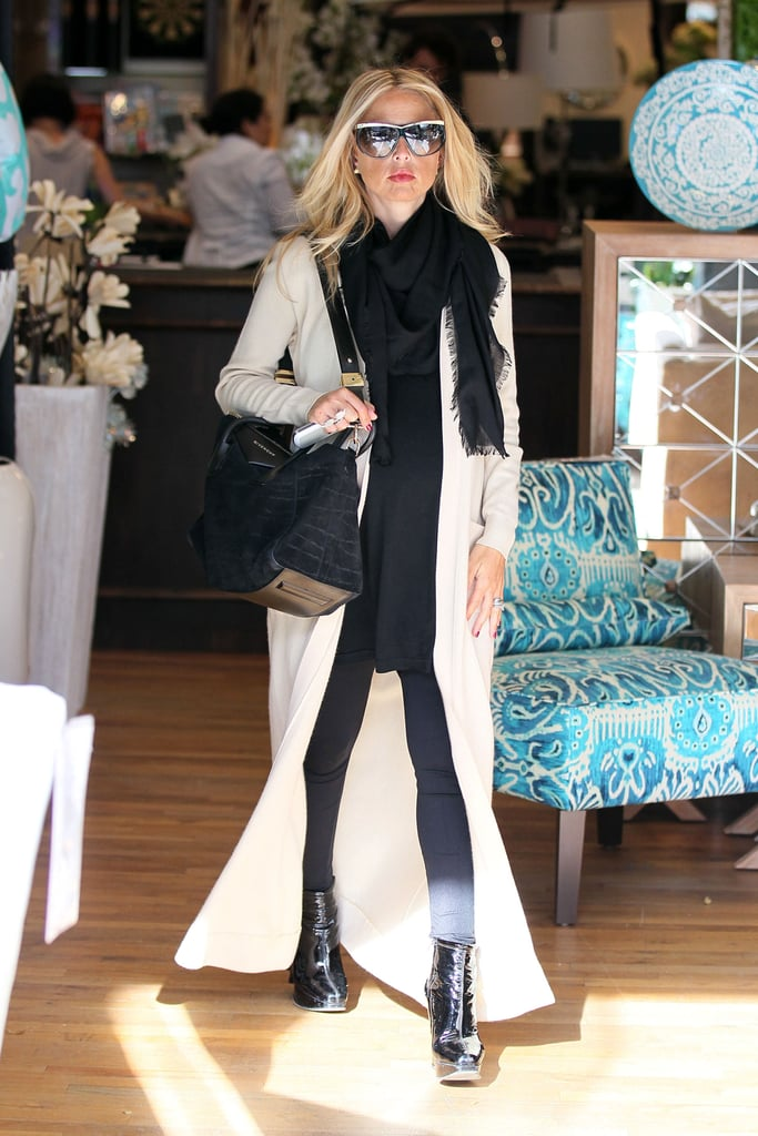 Again, Rachel Zoe proved that she may just be one of the most stylish moms-to-be. Ever.