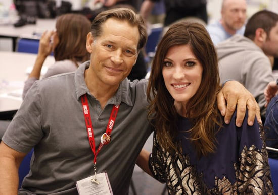 Dexter Stars Jennifer Carpenter and James Remar Interview About Season Five at 2010 Comic-Con