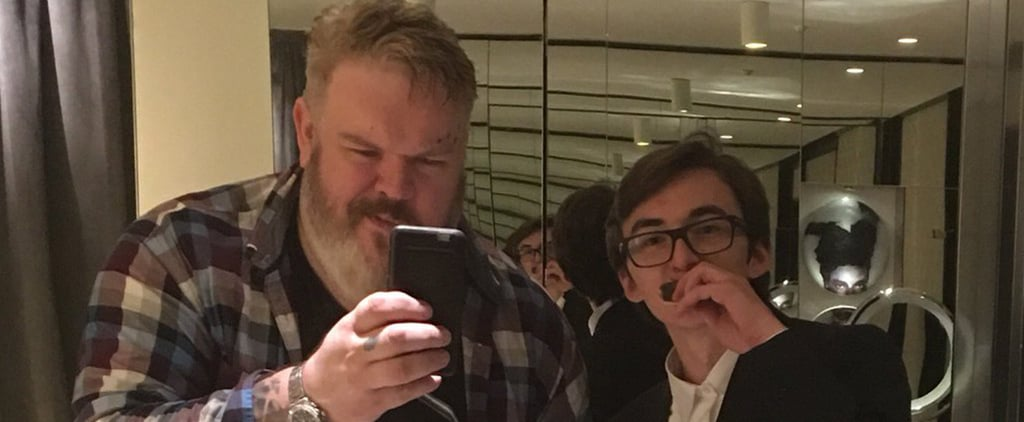 Hodor and Bran Eat Cake Together, Are Still Thunder Buddies For Life