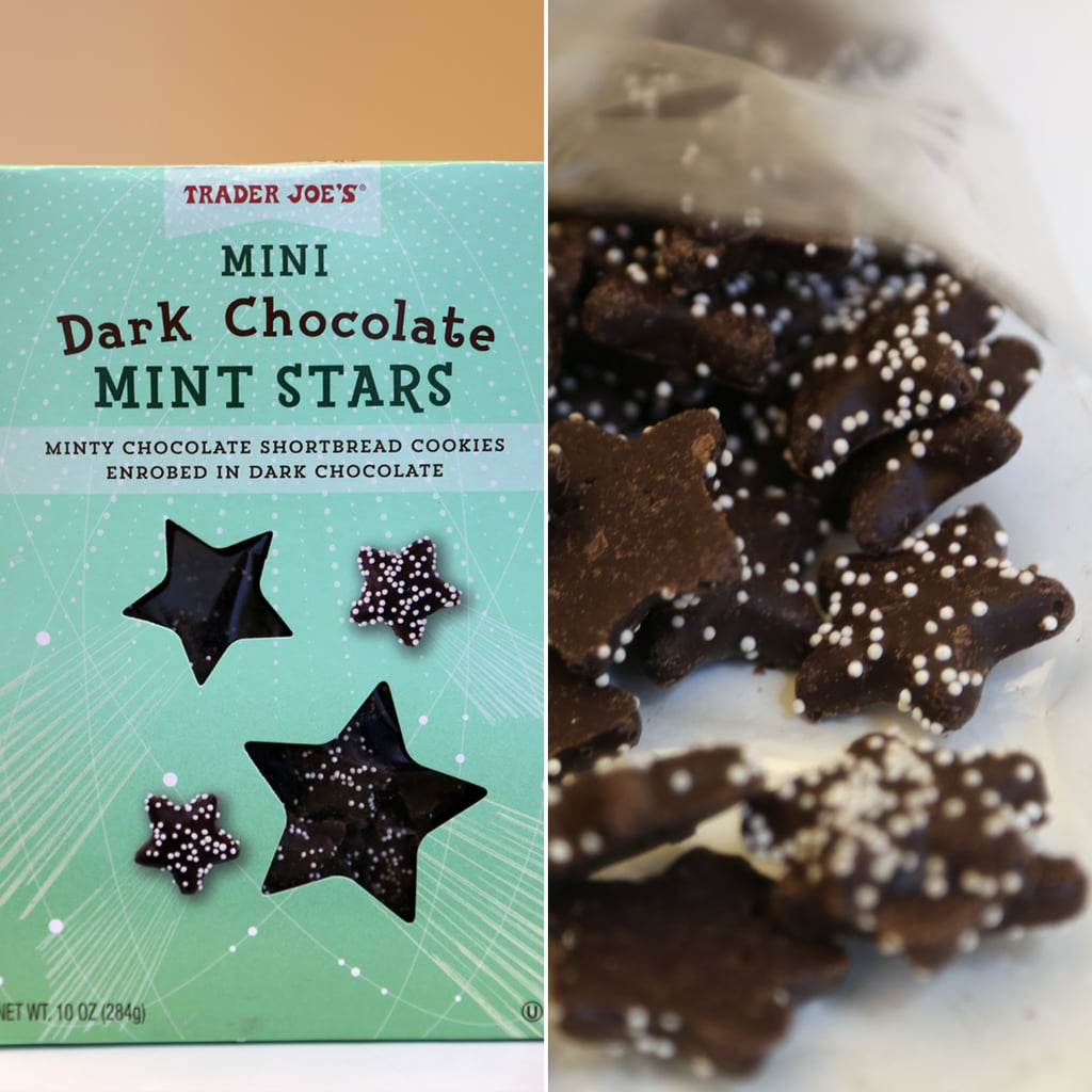 Trader Joe's Mini Dark Chocolate Mint Stars