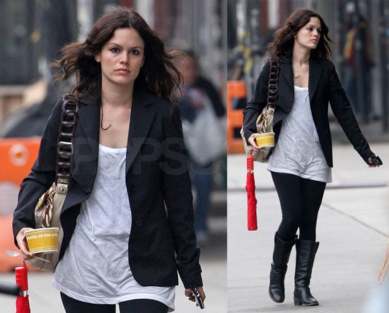 Photos of Rachel Bilson in NYC Ahead of the Costume Institute Gala
