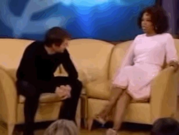 Two Months After the Premiere, Tom Cruise Jumped on Oprah's Couch