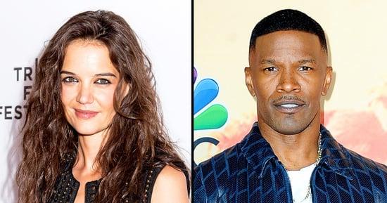 Katie Holmes Joins Boyfriend Jamie Foxx Backstage at Barbra Streisand Concert