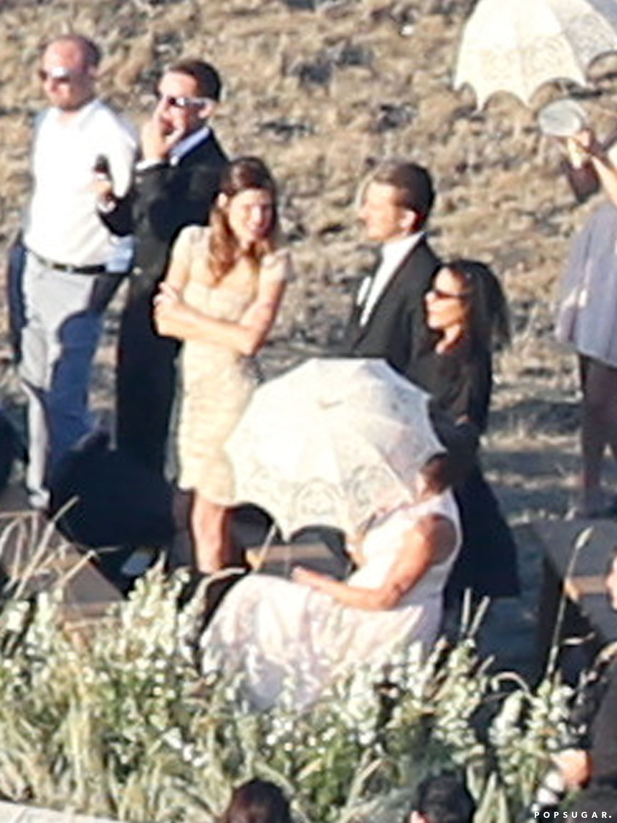 Lake Bell attended Kate Bosworth's wedding in Montana.