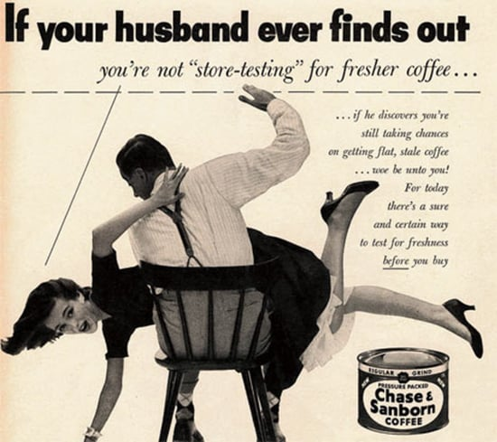 Vintage Coffee Ads: The Good, Bad, and Sexist