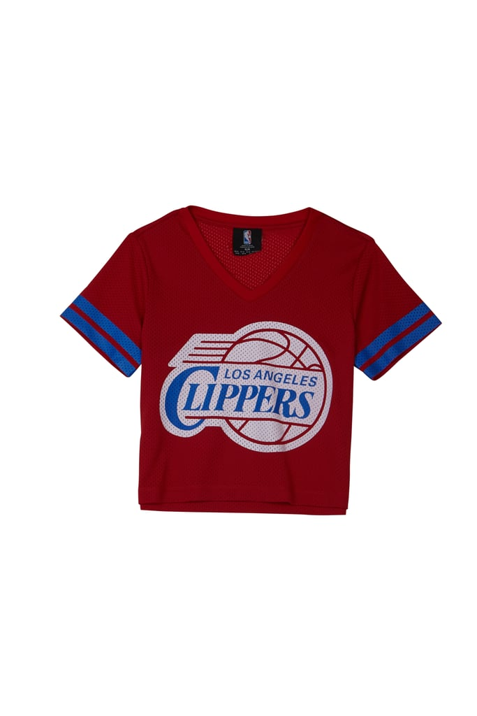 Forever 21 x NBA Clippers Jersey Top