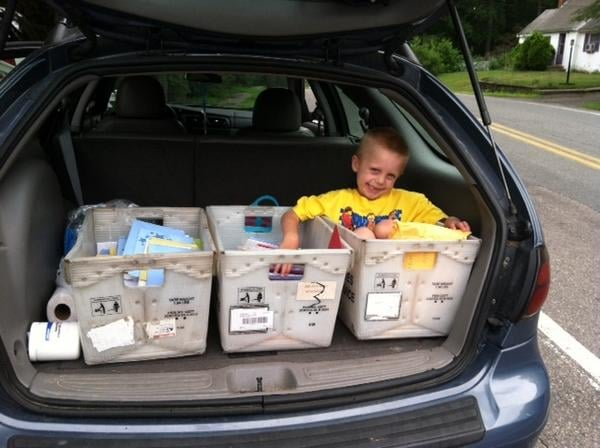 "By the Monday before his birthday, Danny had received around 375 cards and 15 packages filled with gifts.  ""We never thought it would be this big,"" his mom, Carley Nickerson, told the local paper. ""It's very crazy."" Source: Twitter user TheSunChronicle"