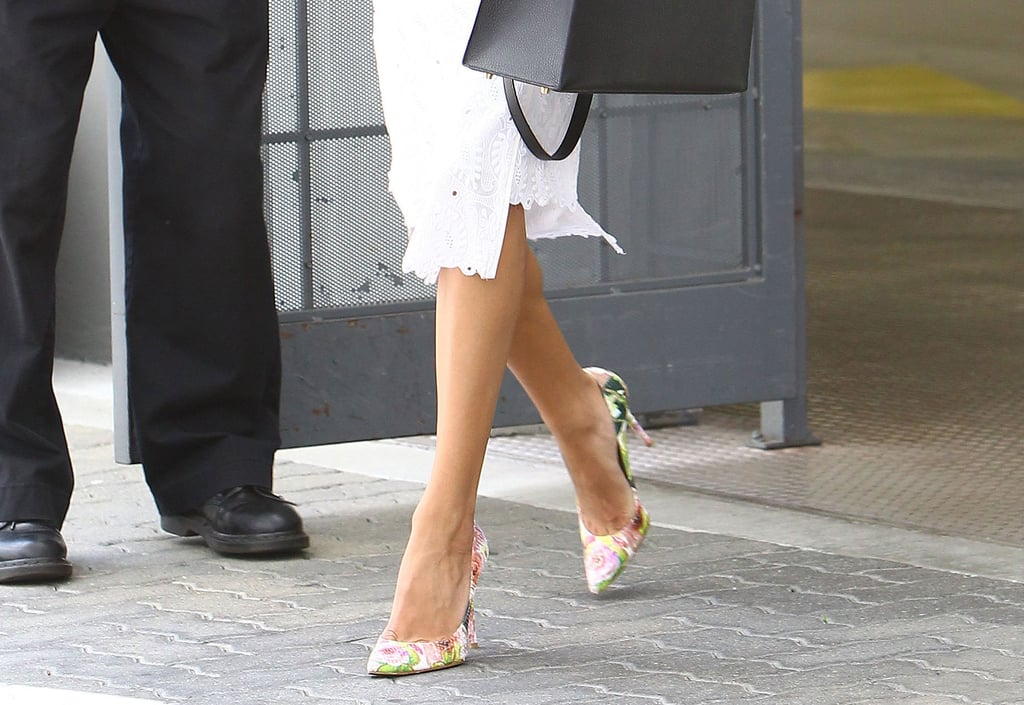 Naya Rivera in a White Dress