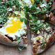 Asparagus Ribbon Pizza