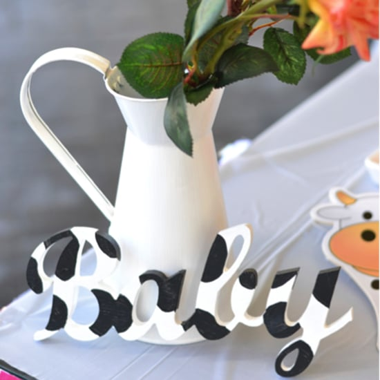 Cow-Themed Baby Shower