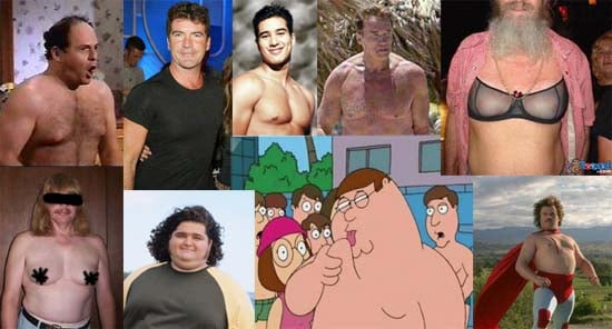 """Who Has the Worst """"Moobs""""?"""