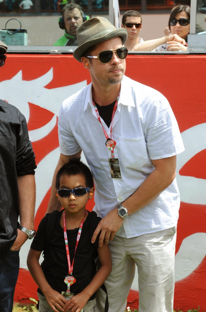 We Just Can't Get Enough of These Adorable Jolie-Pitt Family Moments