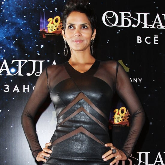 Halle Berry in a Sheer Dress at Moscow Premiere | Pictures