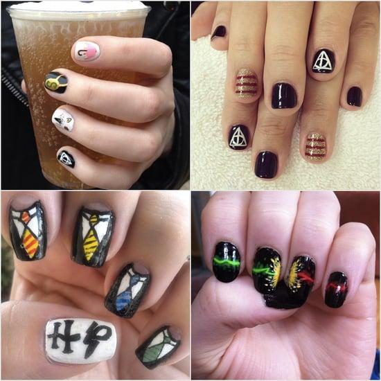 Harry Potter Nail Art Ideas