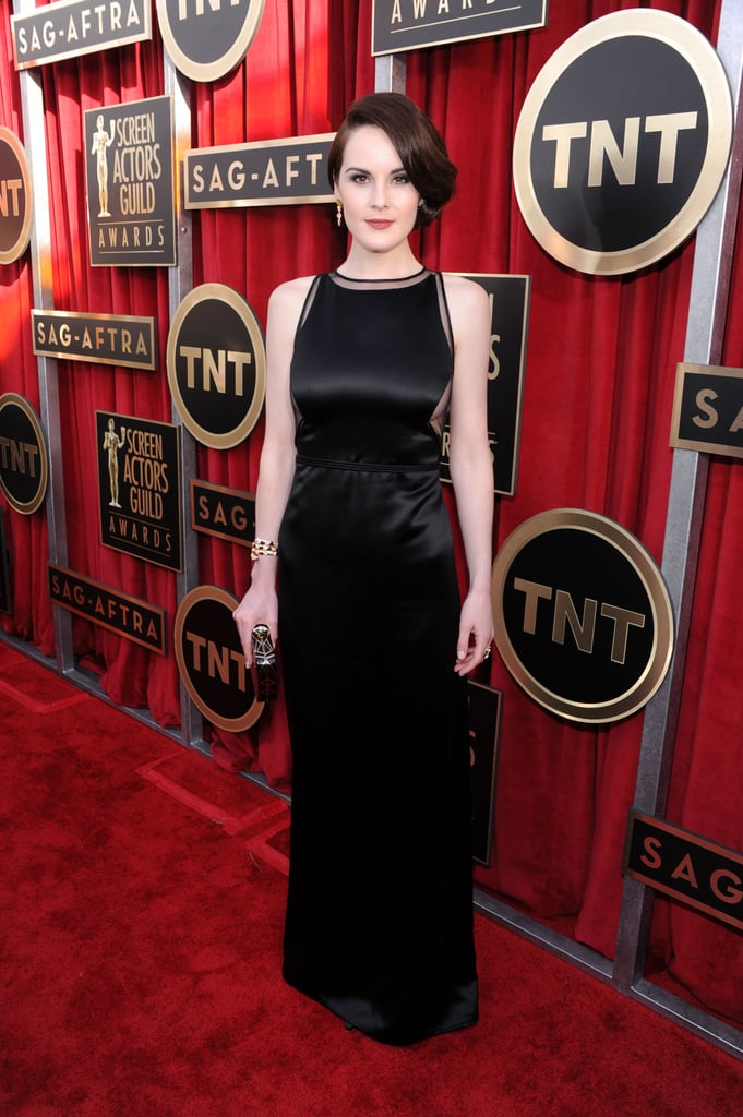Michelle Dockery Goes Vintage at the SAG Awards