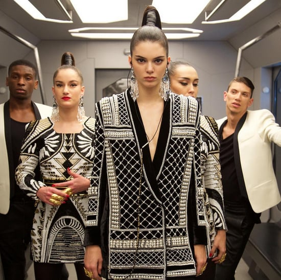 Balmain and H&M Fashion Show