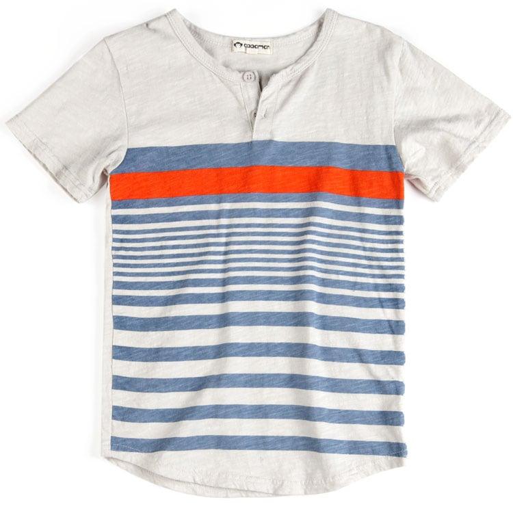 Short-Sleeved Henley