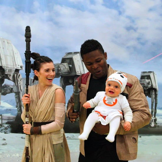 Family Dresses Up as Rey and Finn With BB-8