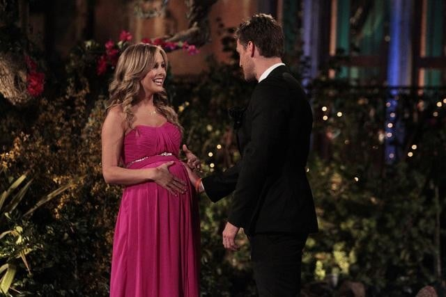 6. When Clare Got Out of the Limo With a Pregnant Belly