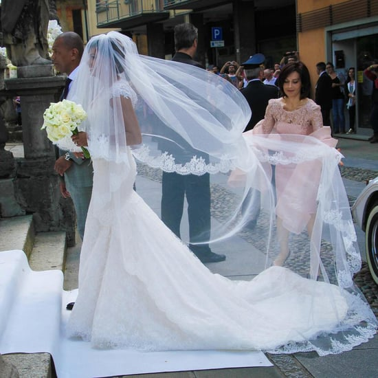 Samuel Eto'o's Wife Georgette Tra Lou's Wedding Dress