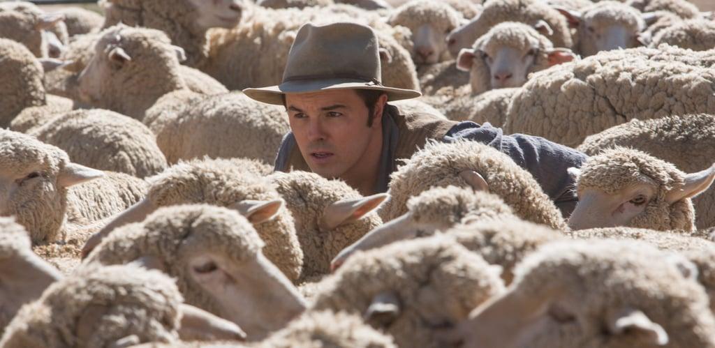 Seth MacFarlane in A Million Ways to Die in the West