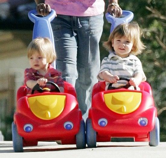 Sean Preston and Jaden Hit the Road