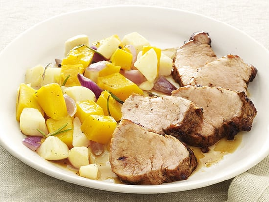 Fast and Easy Recipe For Pork With Squash and Apples
