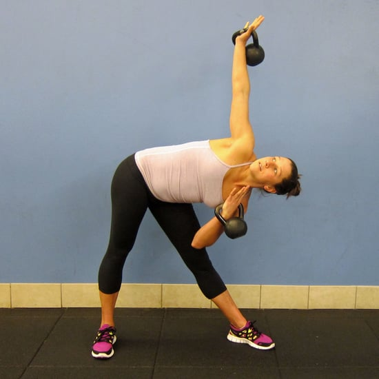 How to Do Windmills With Kettlebells