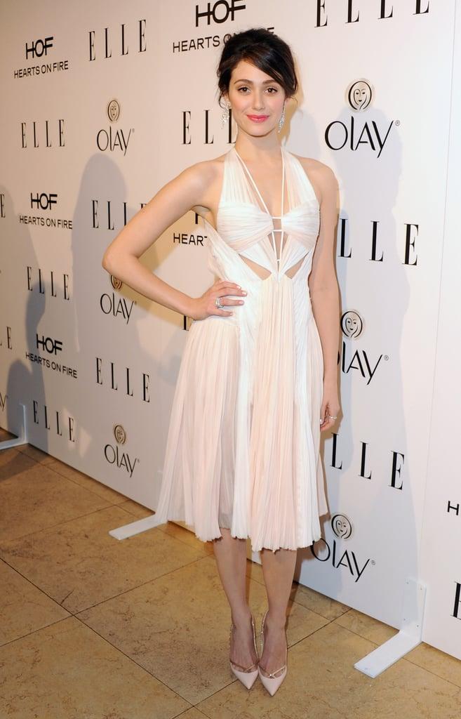 Emmy Rossum at the Elle Women in Television Celebration