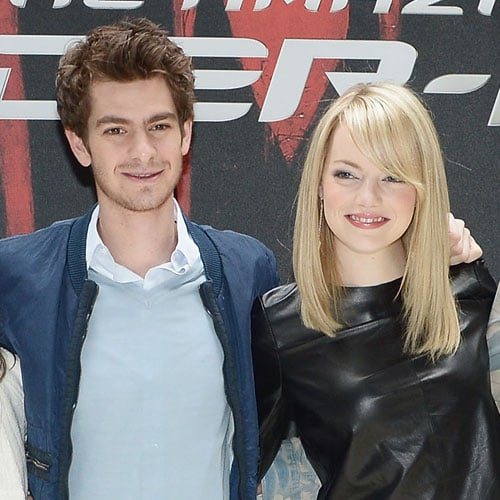 Emma Stone and Andrew Garfield Pictures for Spiderman in NYC
