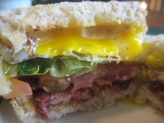 Thomas Keller's Cheesy BLT Fried Egg Sandwich