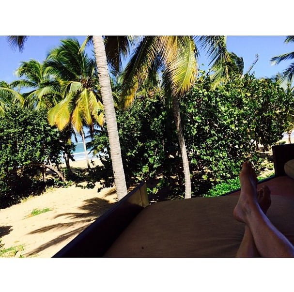 It was a pretty sweet view for Jacquelyn Jablonski in the Dominican Republic. Source: Instagram user jacquelynjablonski
