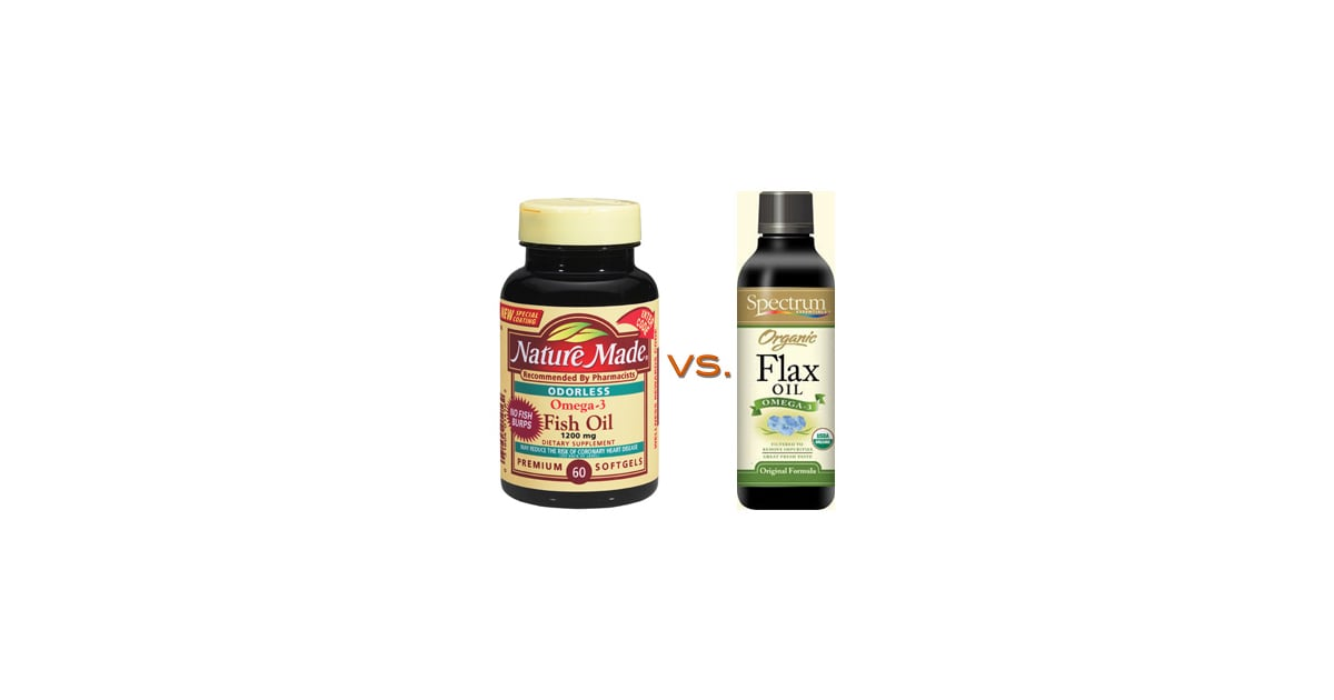 Omega 3 competition fish oil vs flaxseed oil popsugar for Flaxseed oil or fish oil