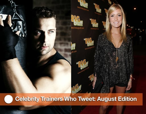 Celebrity Trainers Give Fitness Advice Over Twitter