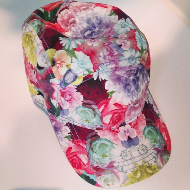 H&M's latest Conscious collection provided us with this bright floral baseball cap. We're dreaming of Spring consequently.