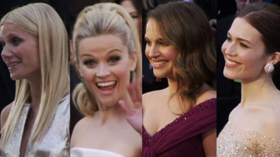 Video: 2011 Oscars Red Carpet, Including Natalie Portman, Reese Witherspoon, and Gwyneth Paltrow