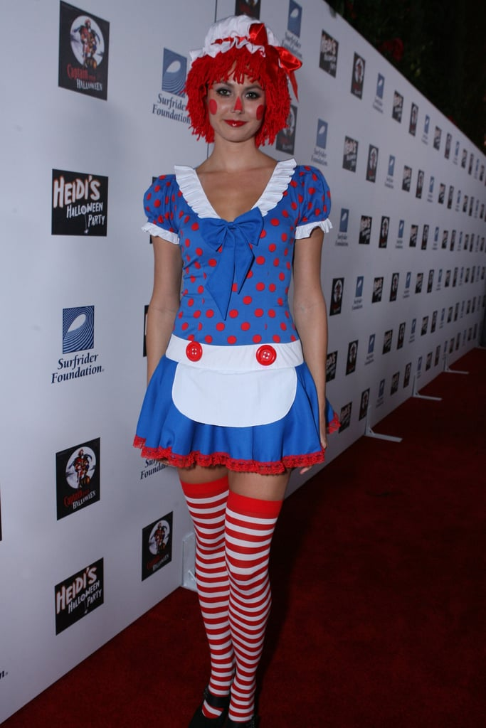 Stacy Keibler went to an LA party dressed as Raggedy Ann in 2007.