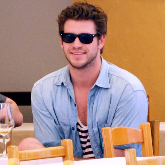 Liam Hemsworth on Vacation in Italy | Pictures
