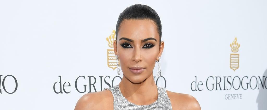 Warning: Kim Kardashian's Cannes Appearance May Cause Temporary Vision Loss