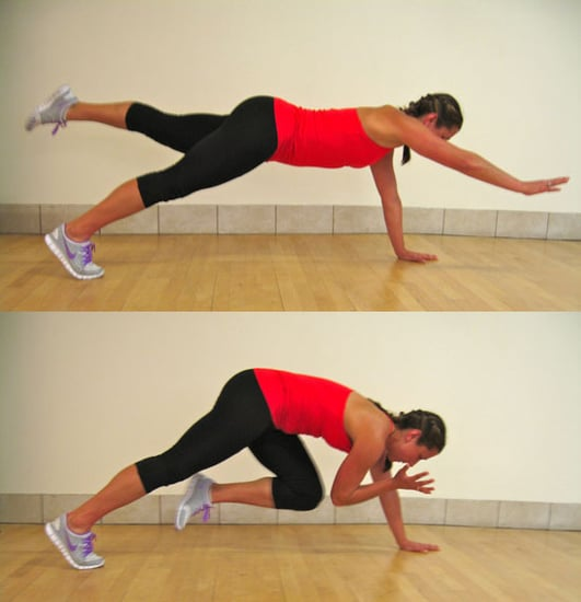 Advanced Plank Variation to Work Core Stability: Two Point Plank