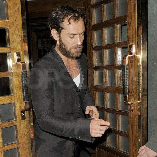 Jude Law at The Ivy in London With Ruth Wilson Pictures