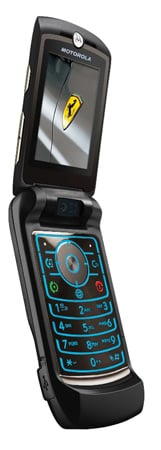 MOTORAZR And Ferrari Create Cell Phone With Vroom