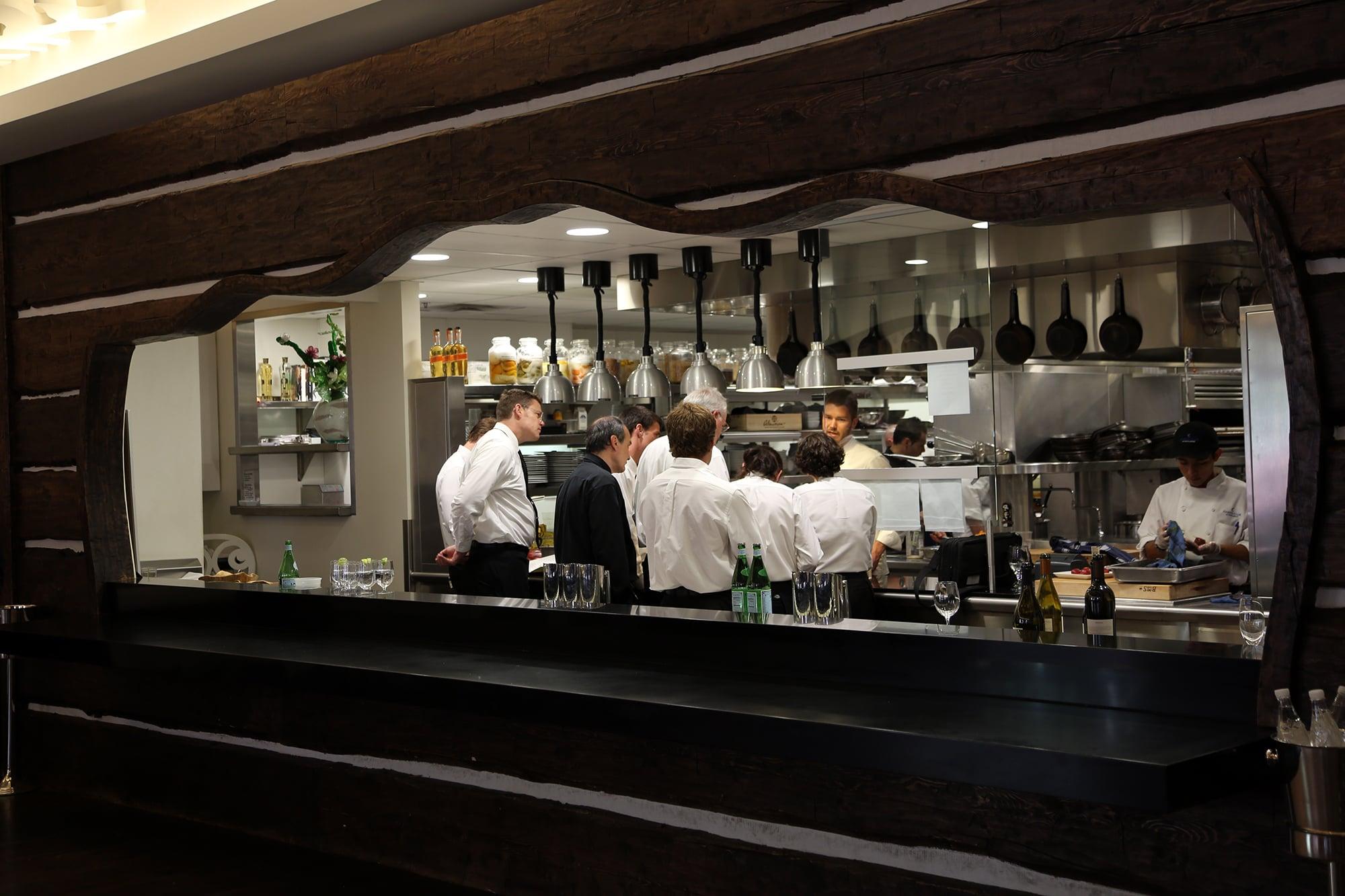 Thursday: St. Regis Chefs Club