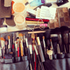For Linda Hay, there is no such thing as too many brushes during award season. Source: Instagram user lindahaymakeup