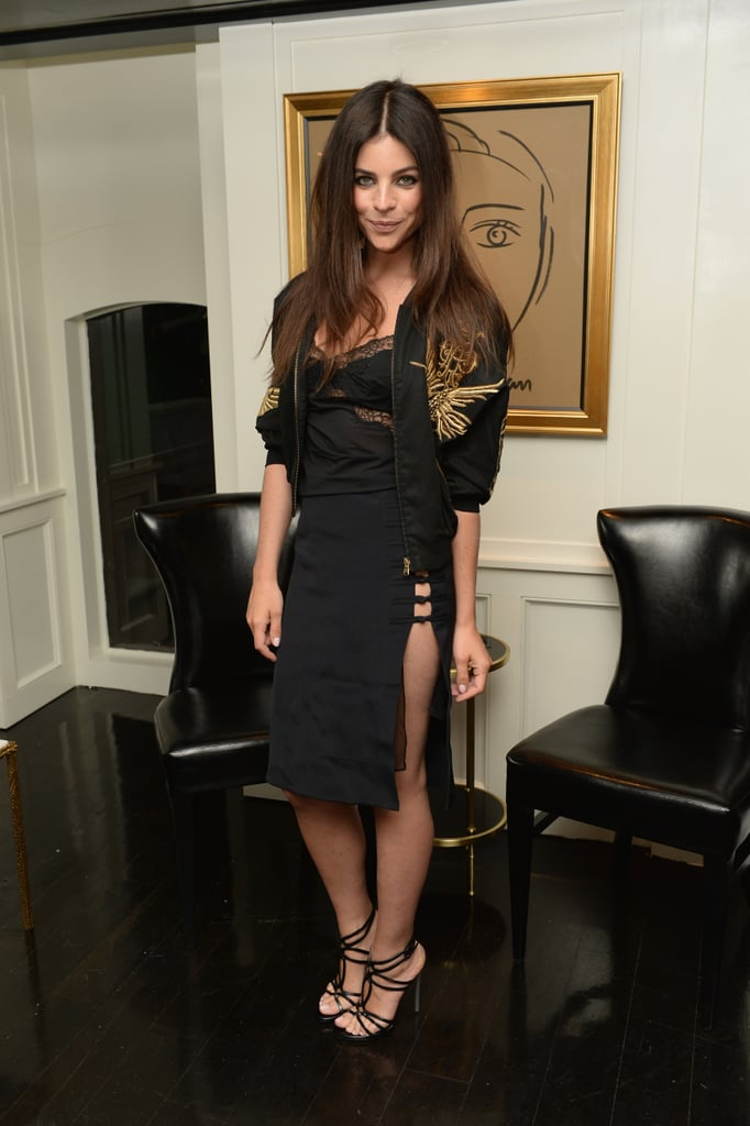 Julia Restoin Roitfeld, in Emilio Pucci, at the dinner she and Casadei hosted in honor of Casadei Resort 2014 in NYC.