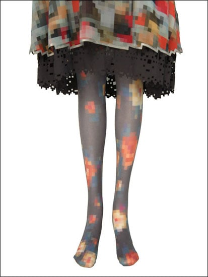 These pixel tights from the collection are available for about $75.