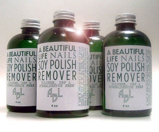 Review of A Beautiful Life Soy Nail Polish Remover