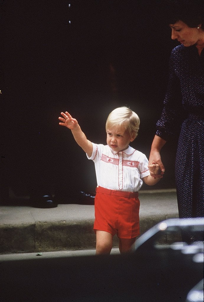 He Perfected His Royal Wave Early