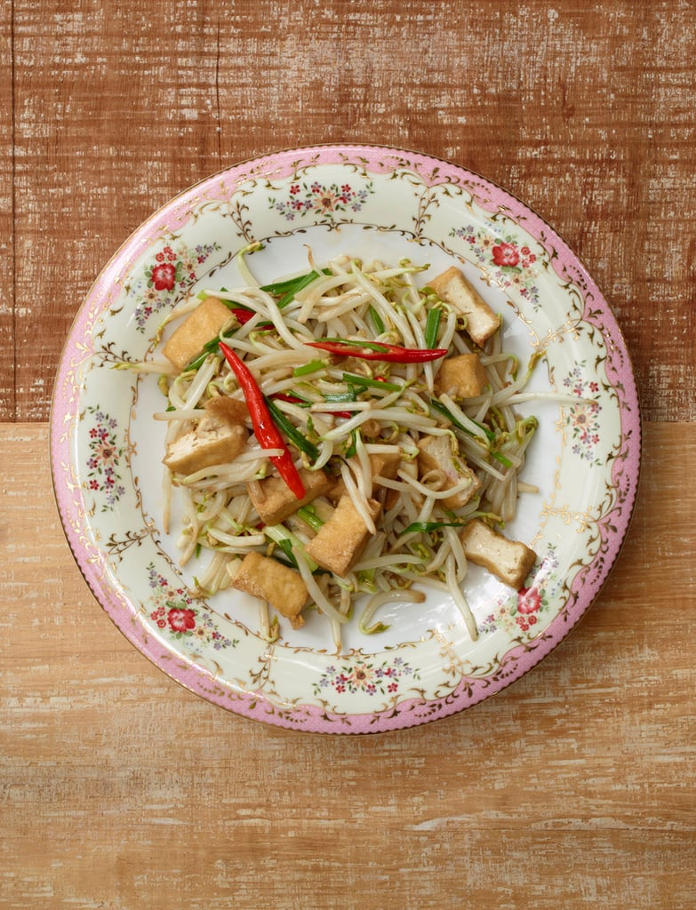 Stir-Fried Tofu With Bean Sprouts